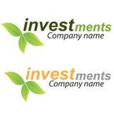 Van het bedrijfs bedrijf embleem - Investering Royalty-vrije Stock Fotografie