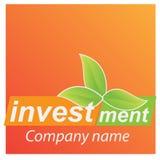 Van het bedrijfs bedrijf embleem - Investering Royalty-vrije Stock Foto