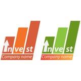 Van het bedrijfs bedrijf embleem - Investering Royalty-vrije Stock Afbeeldingen