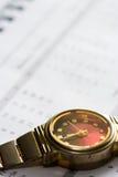 Van het bedrijfs horloge concept Stock Fotografie