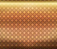 Van het brons Geometrisch Behang Als achtergrond Royalty-vrije Stock Foto's