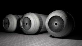 Van het cilindrische mechanisme Stock Afbeeldingen