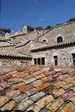 Van het dak. Stock Foto's