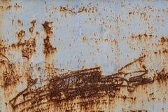 Van het de achtergrond roestmetaal van de ijzeroppervlakte textuur Stock Foto's