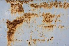 Van het de achtergrond roestmetaal van de ijzeroppervlakte textuur Royalty-vrije Stock Afbeelding
