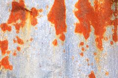 Van het de achtergrond textuurpatroon van de zinkmuur roestig golfmetaal oud bederf royalty-vrije stock foto's
