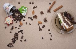 Van het de bakkerij bruine close-up van het broodvoedsel de cakepretzel Stock Afbeelding