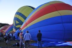 2015 van het de Brandbedrijf van Plainville (CT) het Festival van de de Hete Luchtballon Royalty-vrije Stock Afbeelding