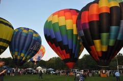 2015 van het de Brandbedrijf van Plainville (CT) het Festival van de de Hete Luchtballon Stock Afbeelding