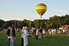 2015 van het de Brandbedrijf van Plainville (CT) het Festival van de de Hete Luchtballon Stock Foto's