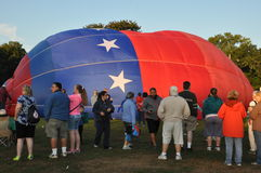2015 van het de Brandbedrijf van Plainville (CT) het Festival van de de Hete Luchtballon Royalty-vrije Stock Foto's