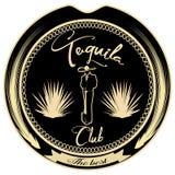 Van het de clubkenteken van Tequilaminnaars het embleem vectormalplaatje Stock Foto