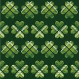 Van het de Daggeruite schots wollen stof van heilige Patrick het naadloze patroon royalty-vrije illustratie