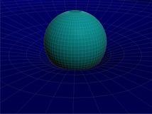 Van het de Draadnet van Einstein van de de Relativiteitstheoriestructuur Algemene Vector 03 royalty-vrije illustratie