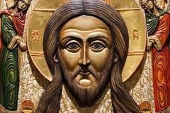 Van het de godsdienst godsdienstig geloof van de pictogramikoon het Christendomcredo stock afbeelding