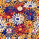 Van het de hondlichaam van Japan het naadloze patroon van Inu Hariko royalty-vrije illustratie