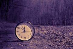 Van het de Klokprogramma van de alarmtiming de Tijdconcept Stock Foto