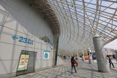 Van het de Koepelhonkbal van Tokyo de mening van de het stadionnacht Royalty-vrije Stock Afbeeldingen