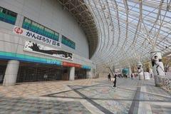 Van het de Koepelhonkbal van Tokyo de mening van de het stadionnacht Royalty-vrije Stock Afbeelding