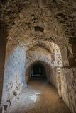 Van het de kruisvaarderkasteel van Al Karak kerak de vesting Jordanië Stock Afbeeldingen