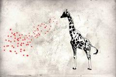 Van het de kunstontwerp van de muurschilderingpret het ideemuur stock illustratie