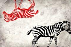 Van het de kunstontwerp van de muurschilderingpret het ideemuur royalty-vrije illustratie