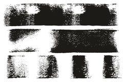 Van het de Lijnen de Hoge Detail van de verfrol Abstracte Vectorlijnen royalty-vrije illustratie
