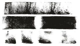 Van het de Lijnen de Hoge Detail van de verfrol Abstracte Vectorlijnen stock illustratie