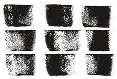 Van het de Lijnen Hoge Detail van de verfrol de Gewaagde Abstracte Vectorlijnen & Reeks Als achtergrond 69 Royalty-vrije Stock Afbeelding