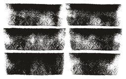 Van het de Lijnen Hoge Detail van de verfrol de Gewaagde Abstracte Vectorlijnen & Reeks Als achtergrond 58 Royalty-vrije Stock Afbeelding