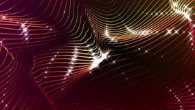 Van het de Lijnpatroon van Hyatte//1080p Betoverende Abstracte Videolijn Als achtergrond royalty-vrije illustratie