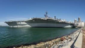 Van het de MarineVliegdekschip van de V.S. Centrale de Tijdtijdspanne van USS stock footage