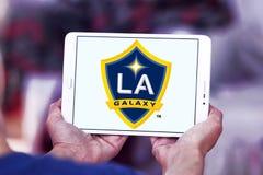 Van het de Melkwegvoetbal van Los Angeles de Clubembleem stock foto's