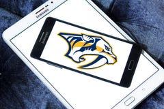Van het de Roofdierenijshockey van Nashville het teamembleem royalty-vrije stock foto's