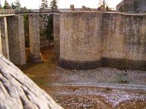 Van het de rotsenfort van Cetateaneamtului de vesting moldova Royalty-vrije Stock Fotografie
