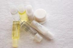 Van het de shampoolichaam van de douche lotion II royalty-vrije stock foto's