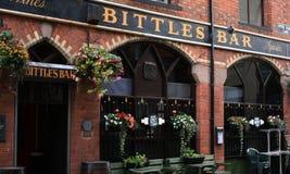 Van het de Stadscentrum van Belfast de Bar van Bittles Stock Foto's