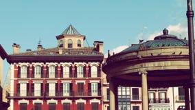Van het de Stadscentrum van Pamplona de Oude Stad Europa Royalty-vrije Stock Fotografie