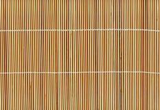 Van het de stokstro van het bamboe de achtergrond van de de mattextuur stock foto's