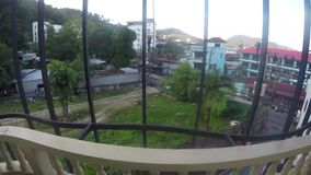 Van het de straat timelapse venster van Thailand van de meningsazië de Thaise phuketzomer stock footage