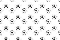 Van het de voetbalbehang van de voetbalsport de vectorachtergrond Royalty-vrije Stock Foto's