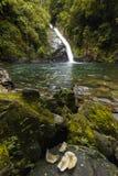 Van het de Waterval Nationale Park van Yong de bruine brede hoek Thailand royalty-vrije stock foto