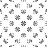 Van het het doelpatroon van het Svdkanon de naadloze vector stock illustratie