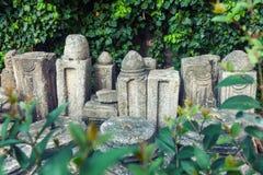 Van het Galeriuspaleis (Rotonda) de tempel in Thessaloniki, Griekenland Stock Afbeelding