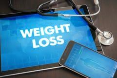 Van het gewichtsverlies (gastro-intestinale verwante ziekte) medische de diagnose stock illustratie