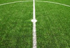 Van het het gebiedsgras van het voetbal de Euro 2012 Stock Foto