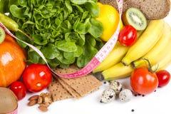 Van het het gewichtsverlies van het dieet het ontbijtconcept Royalty-vrije Stock Foto's