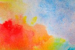 Van het het mozaïekpatroon van de grint de kleurrijke textuur abstracte achtergrond Royalty-vrije Stock Afbeelding