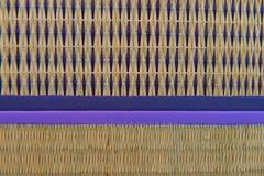Van het het patroonweefsel van Handcraft van het close-upontwerp de textuur natuurlijke achtergrond Royalty-vrije Stock Afbeeldingen