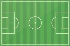Van het het voetbalgebied van de voetbal de hoogtevector vector illustratie